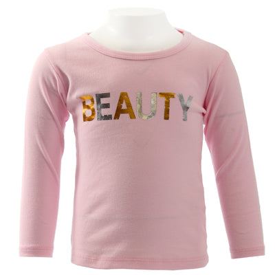 Long Sleeve Tee Pink Beauty