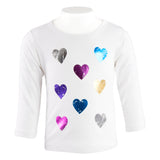 Long Sleeve Tee Multi Heart
