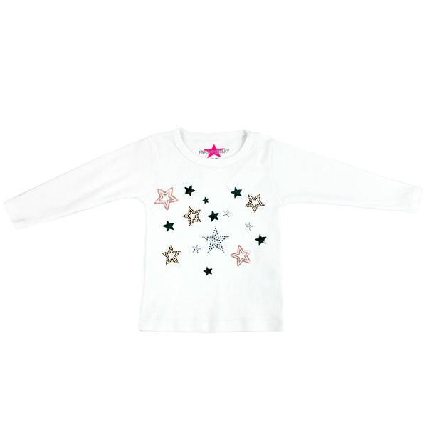 Long Sleeve Tee Multi Stars