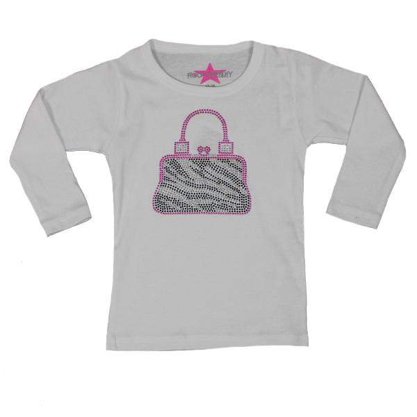 Long Sleeve Tee Zebra Bag
