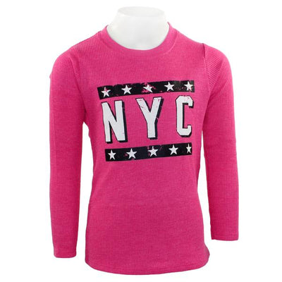 Long Sleeve Thermal with New York City Stars