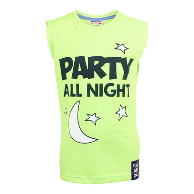 Party All Night Muscle Tee