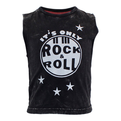 Muscle Tee with Rock & Roll