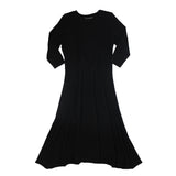 3/4 Sleeve Crew Dress