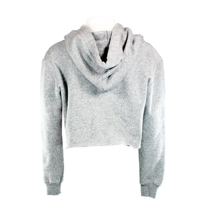 Cropped Long Sleeve Hoody with Snooze