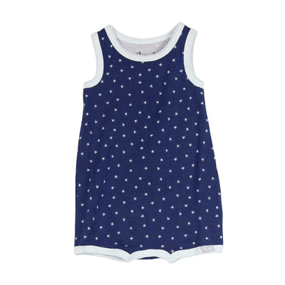 Romper Blue Star