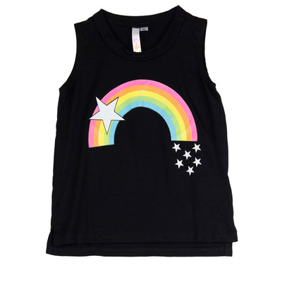 Tank Top with Rainbow and Star