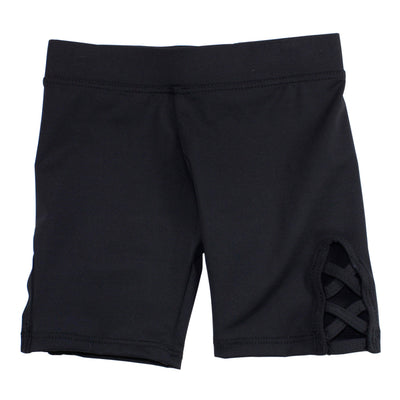Bike Short with Criss Cross