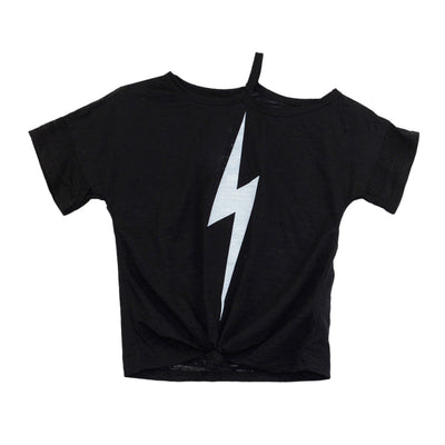 Tee Burnout with Lightning Bolt