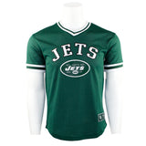 Jets V Neck Mesh Top