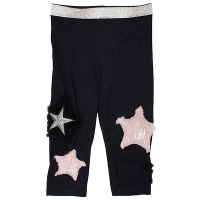 Legging Faux Fur Stars