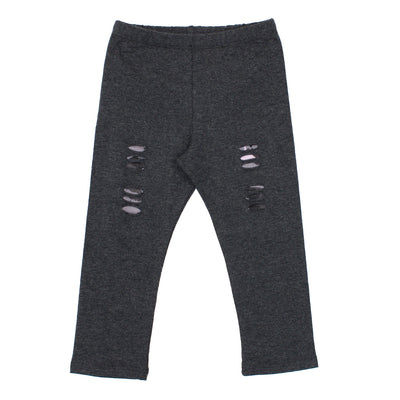 Legging Charcoal Ripped