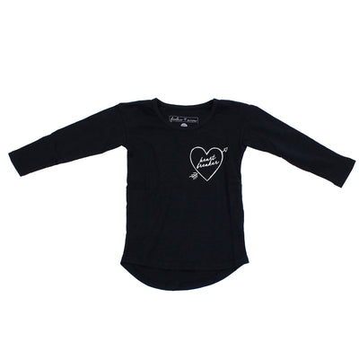 Long Sleeve Ella Tee Heartbreaker