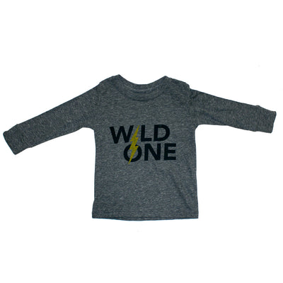 Long Sleeve Tee Jade Wild One