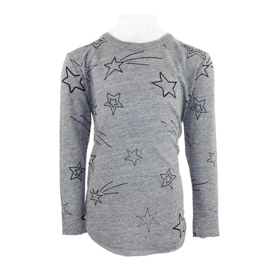 Long Sleeve Top Shooting Stars