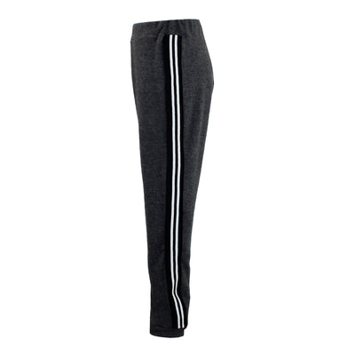 Hacci Sweatpant with Black and White Stripe
