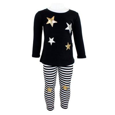 Two Piece Tunic Set Stripe with Stars