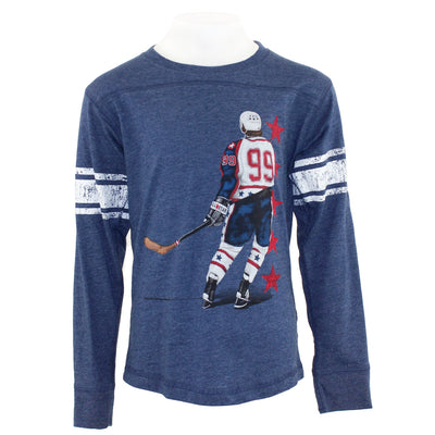 Hockey Player Long Sleeve Tee