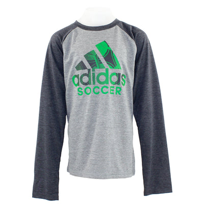Raglan Performance Logo Long Sleeve