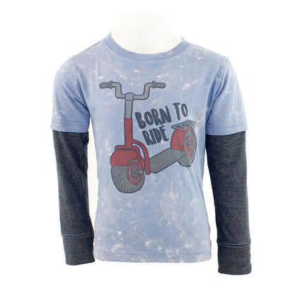 Born To Ride Layer Tee