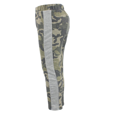 Camo Pant with Piercing