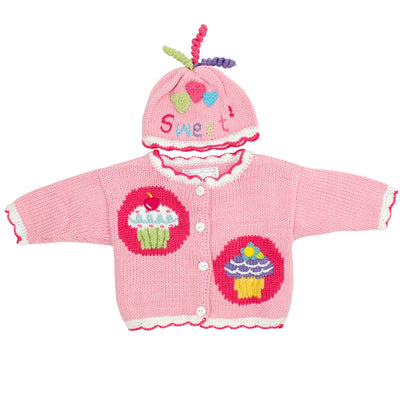 Sweater with Hat Cute As A Cupcake
