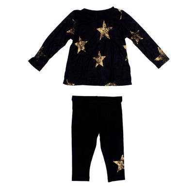 2pc Set Star Top Legging