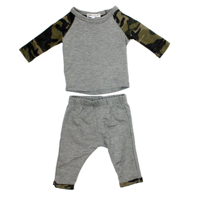 2pc Raglan Set
