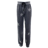 Burnout Sweatpant with All Over Stone Stars