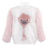 Long Sleeve Fluffy lIama