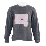 Long Sleeve Thermal with Pink Heart Bag