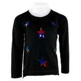 L/S Hi Lo w Rainbow Stars Allover