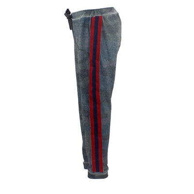 Pant with Red and Navy Trim