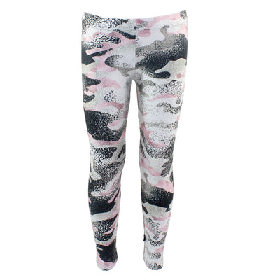 Metallic Pink Camo Legging