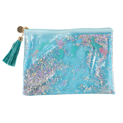 Mermaid Confetti Cosmetic Case