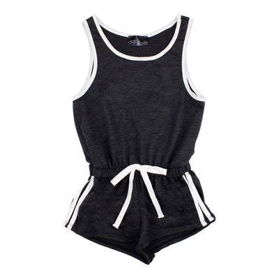 Romper with White Piping