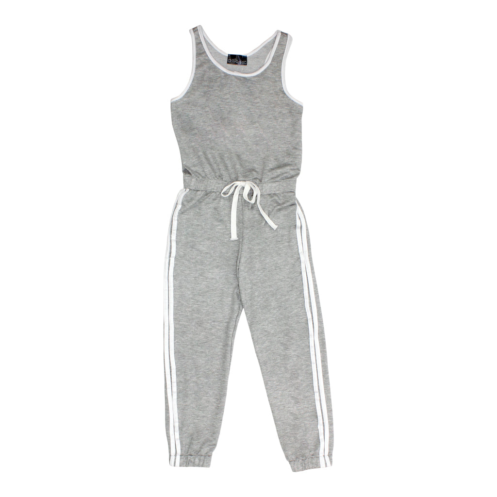 a0d306925 Jumpsuit with White Trim and Stripe – Denny's