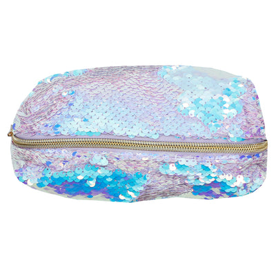 Magic Sequin Lilac Cosmetic Pouch