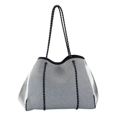 Gry/Silver NeopreneTote