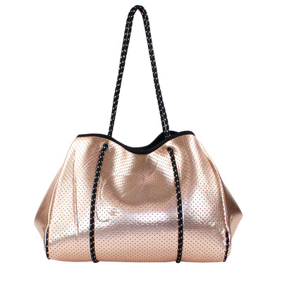 Rose Gold Neoprene Tote