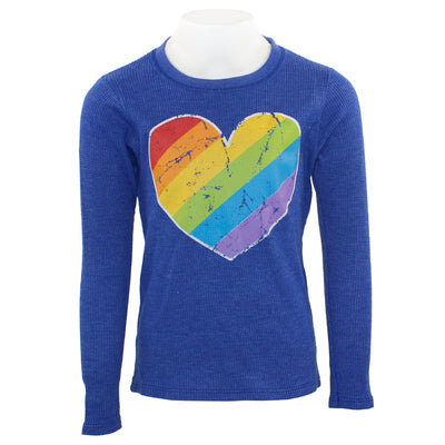 Long Sleeve Thermal with Primary Heart