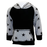 Hoody Sweatshirt Star Fleece