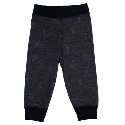 Jog Pant Black Grundge with Band Black
