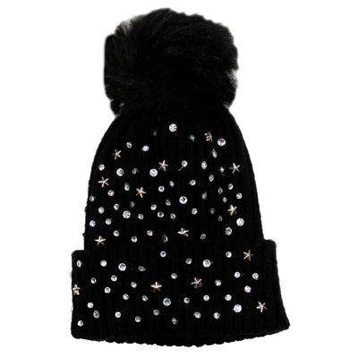 Rhinestone Hat - Fits Sizes 7-14 & Junior