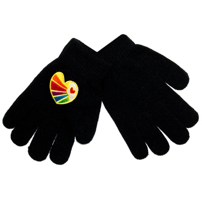 Heart Raise Patch Gloves - Fits Sizes 7-14