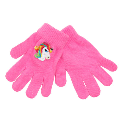 Unicorn Patch Gloves - Fits Sizes 7-14