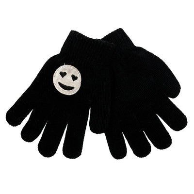 Smiley Patch Gloves - Fits Sizes 7-14
