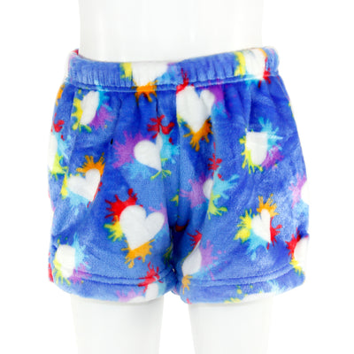 Splatter Hearts Plush Short
