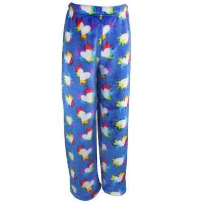 Splatter Hearts Plush Pant