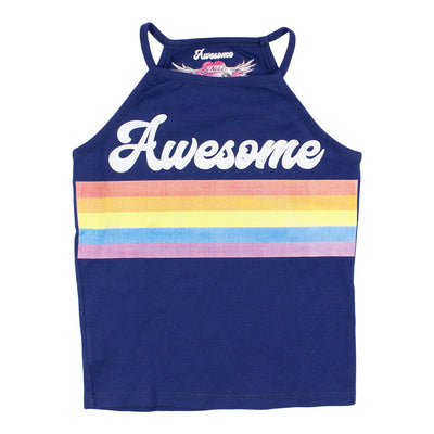 Awesome Rainbow High Neck Tank